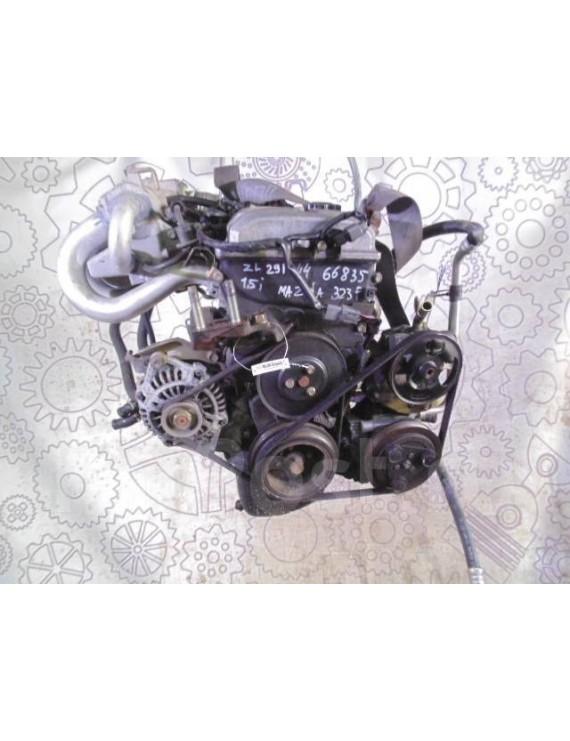 Двигатель Мазда 323  2000г  ZL 282084 1,5