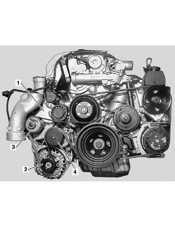 Двигатель MB-210111 942 000 203 44 E1042.0